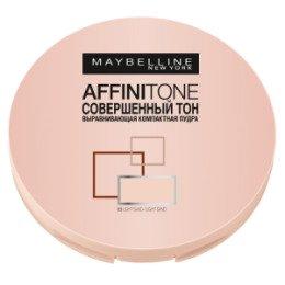 Maybelline New York  Компактная пудра выравнивающая Affinitone 03 светло-бежевый - Мейбелин