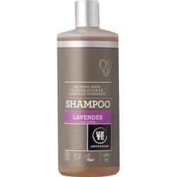 Шампунь бессульфатный  увлажняющий для нормальных волос Лаванда. Urtekram, 500 мл