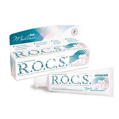 Рокс Гель  для укрепления зубов медикал Минералс ФРУТ 45 гр - R.O.C.S.