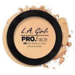 Матирующая пудра для лица - L.A. Girl Pro Face Matte Pressed Powder Creamy Natural