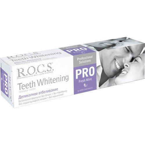 Рокс Зубная паста PRO.Деликатное Отбеливание Fresh Mint 135 гр - R.O.C.S.