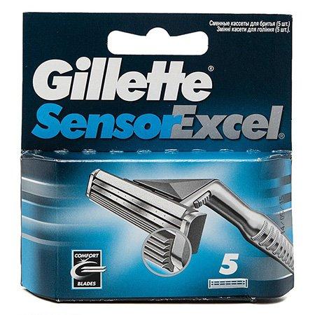 Gillette Sensor Excel Cменные кассеты для бритья 5 шт