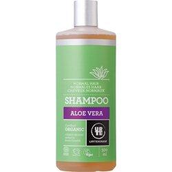 Шампунь бессульфатный  для нормальных волос увлажняющий с зпахом апельсина и с Алоэ Вера. Urtekram, 500 мл