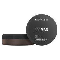 Мужской воск для волос матовый моделирующий 100 мл - Selective Professional For Man Matt Molder - Селектив