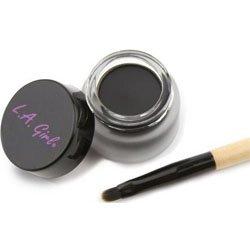 Гелевая подводка для глаз, с кисточкой, 3 гр L.A. Girl Gel Liner Kit Very Black