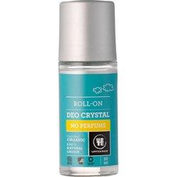 Шариковый гипоалергенный органический дезодорант-кристалл без аромата. Urtekram, 50 мл