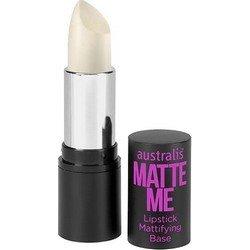 Праймер для губ матирующий, 3,5 г - Australis Matte Me Lipstick Mattifying Base
