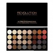 Makeup Revolution Ultra 32 Shade Eyeshadow Palette Flawless 2 - Палетка теней