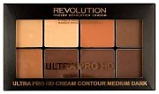 Makeup Revolution HD Pro Cream Contour Medium Dark - Палетка для контурирования