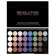 Makeup Revolution Ultra 32 Shade Eyeshadow Palette Mermaids Forever - Палетка теней